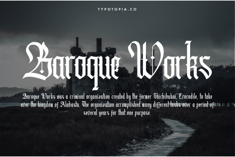 cydonia-the-blackletter-font