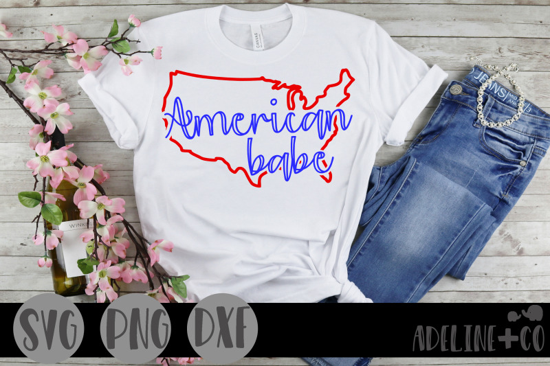 american-babe-svg-png-dxf-cut-file