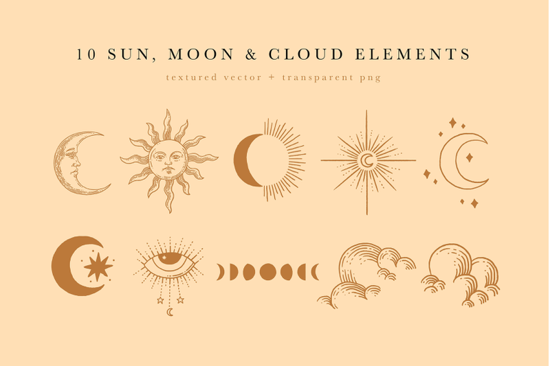 celestial-illustration-set-sun-moon-stars-space