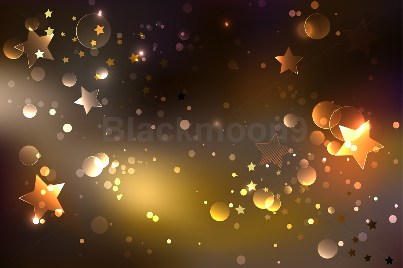 brown-glowing-background