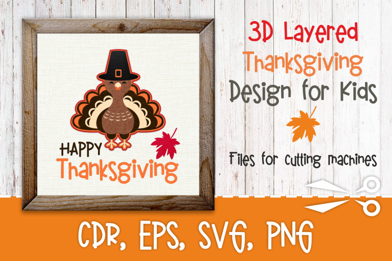 3d-layered-thanksgiving-design-with-turkey