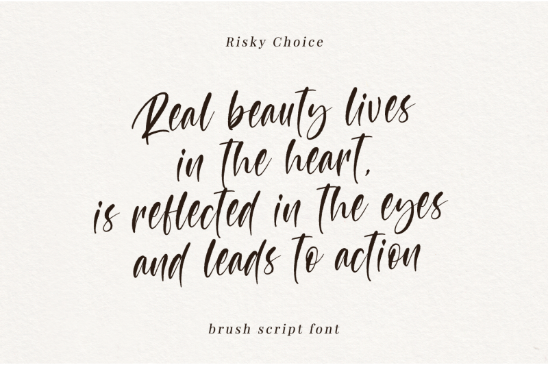 risky-choice-brush-script