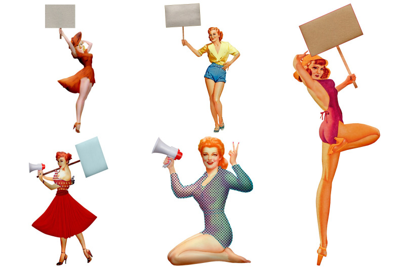 protest-pin-up-girls-clip-art