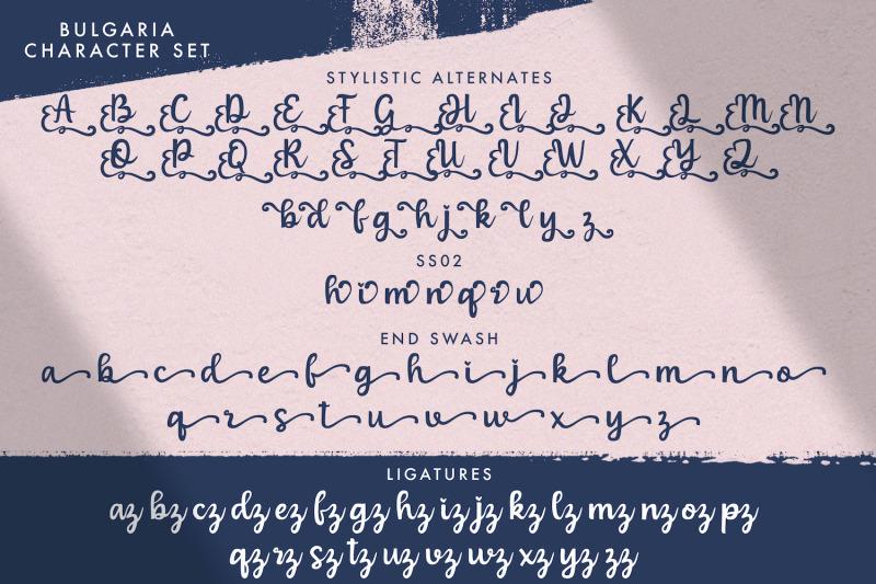 bulgaria-modern-calligraphy-font