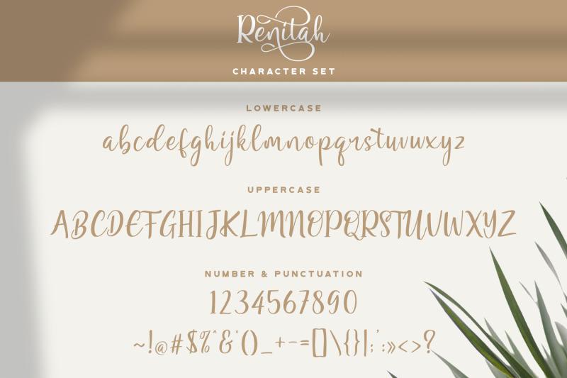 renitah-lovely-script-font