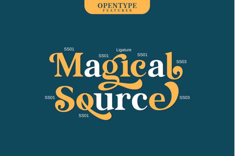 magical-source-stylish-serif-font