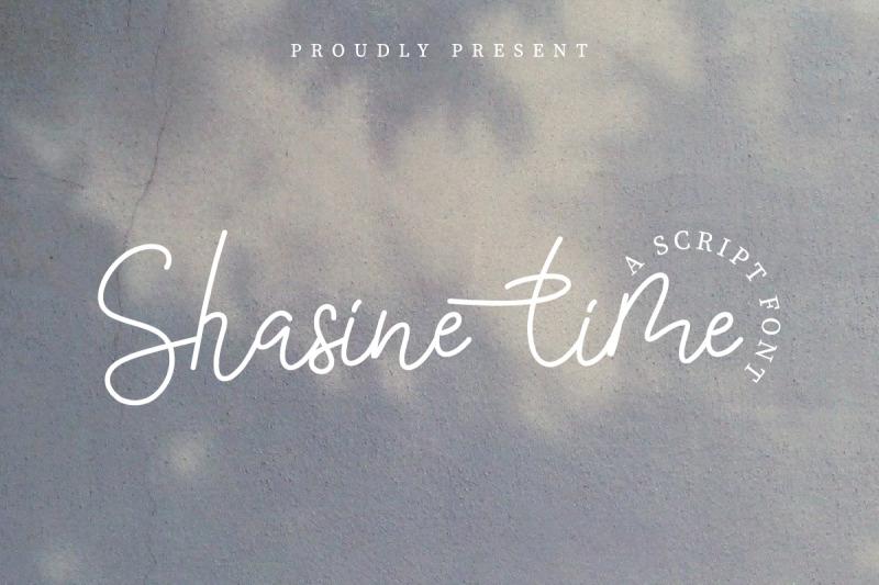 shasine-time