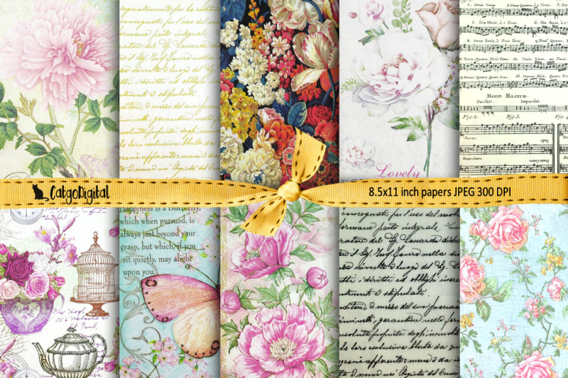 romantic-digital-papers-background-papers-scrapbooking