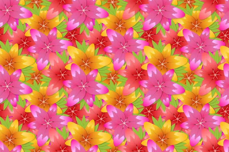 flower-watercolor-seamless-patterns