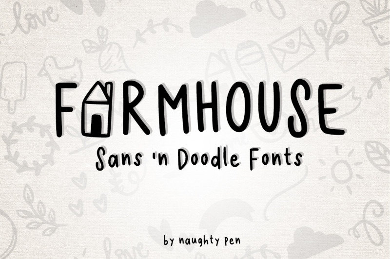 farmhouse-sans-and-doodle-font