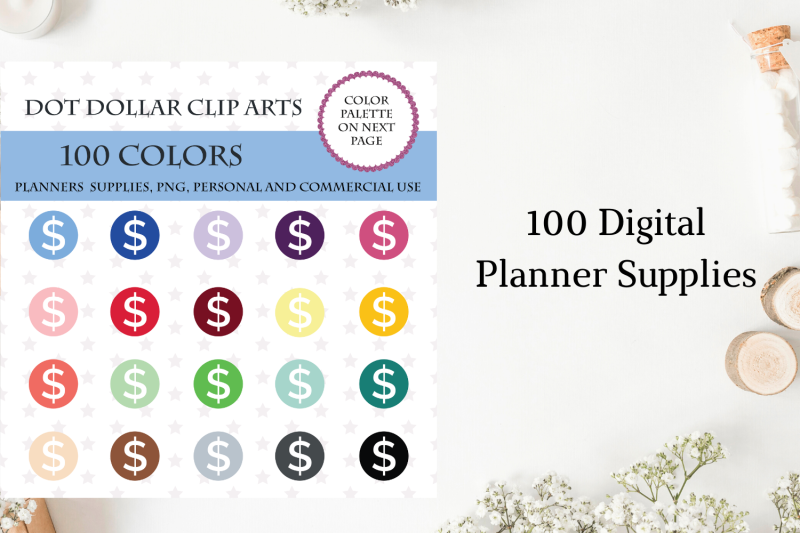 100-round-dollar-dot-clipart-money-planner-sticker-dollar-cliparts