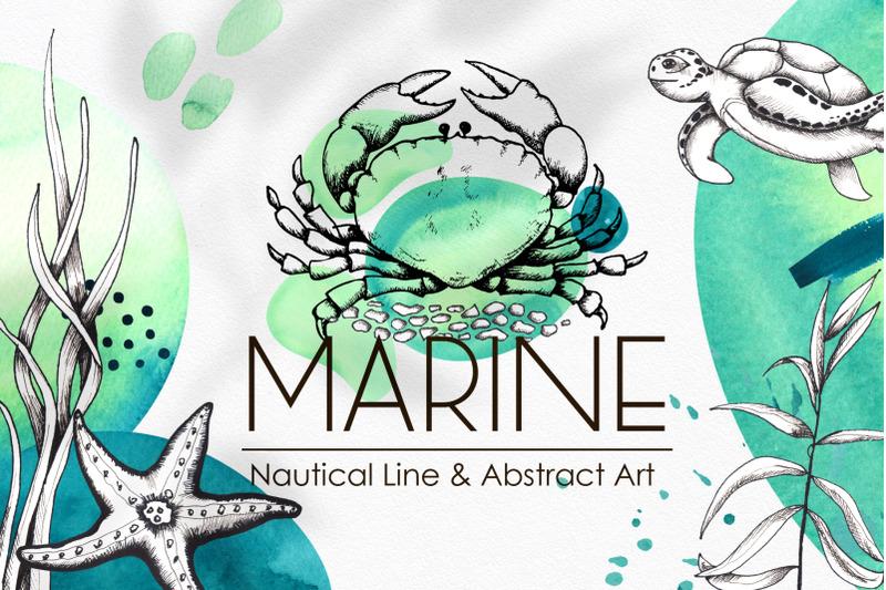 marine-line-amp-abstract-art