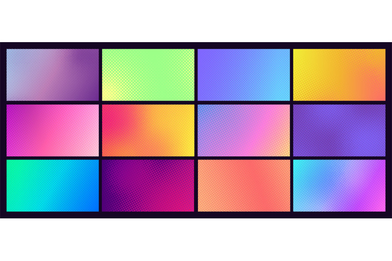 gradient-halftone-background-set-comic-dotted-pop-art-backdrop-with-d