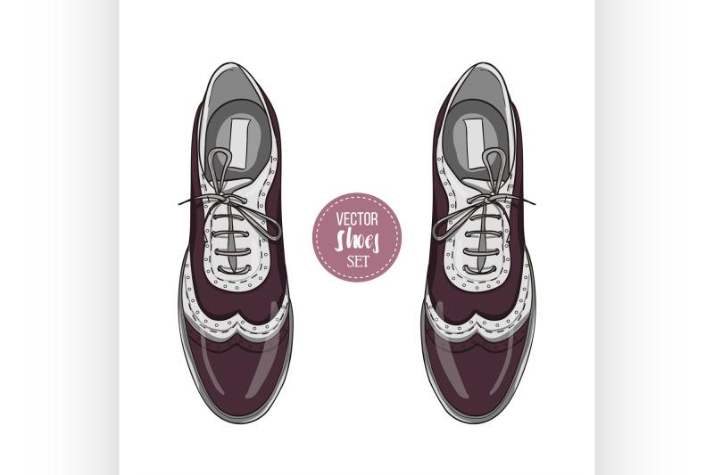 fashionvector-color-womens-shoes