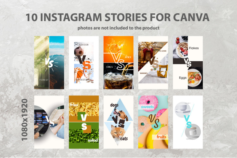 10-instagram-story-canva-template-vs-or-versus