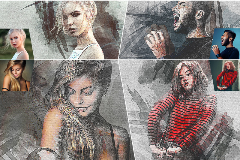 splatter-canvas-photoshop-action