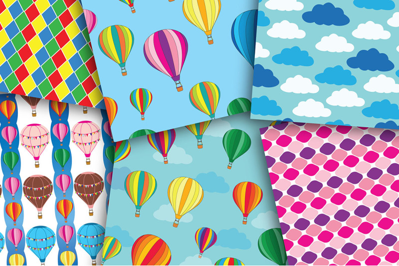 hot-air-balloon-seamless-set-digital-paper-hot-air-ballons-diamond-p