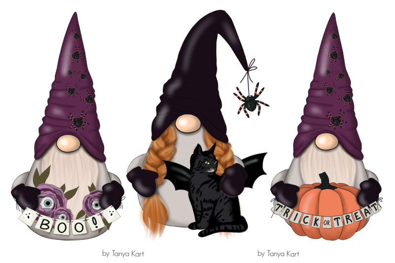 halloween-gnomes-planner-icons