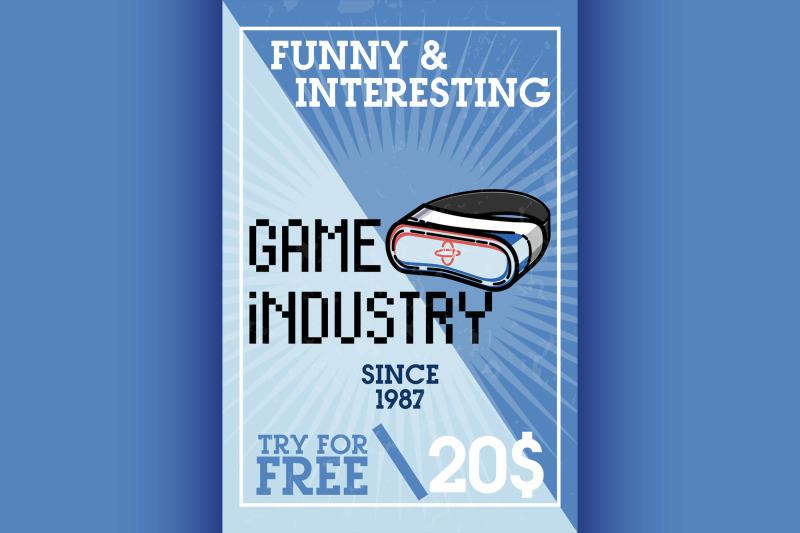 color-vintage-game-industry-banner