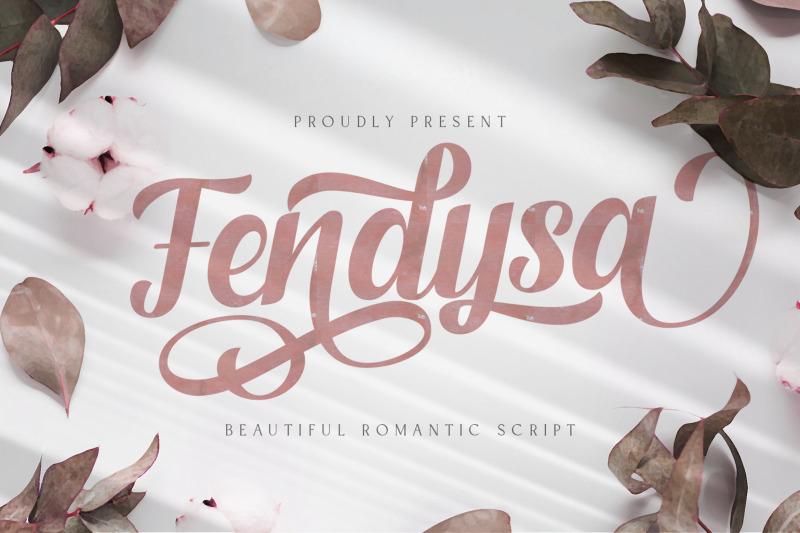 fendysa-romantic-calligraphy-script-font