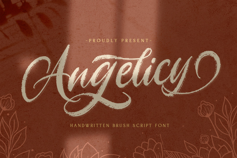 angelicy-textured-brush-font