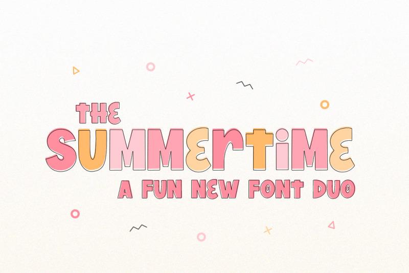 summertime-font-duo