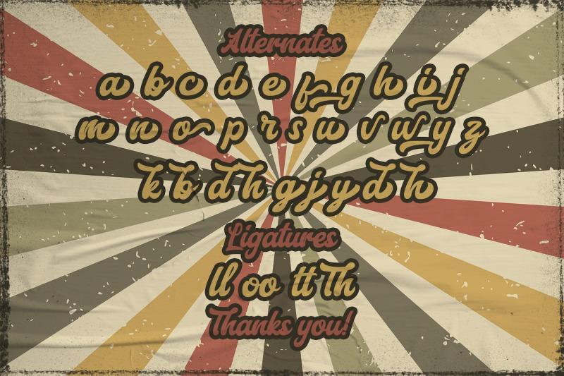 aerillyo-retro-bold-script-font
