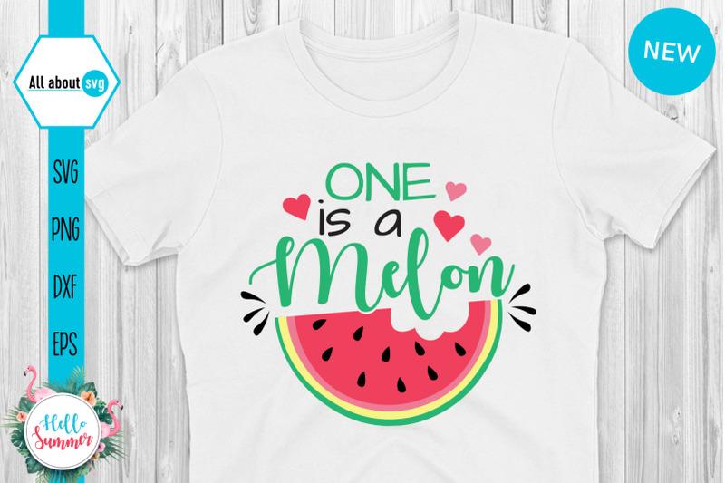 one-is-a-melon-svg-summer-svg-watermelon-svg