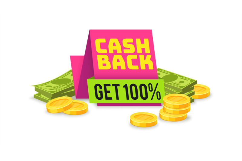 sale-cashback-tag-money-saving-sign-with-ribbon-vector-shopping-offe