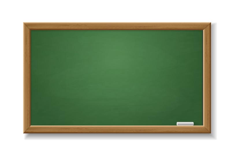 green-blackboard-empty-realistic-old-chalkboard-with-wooden-frame-iso