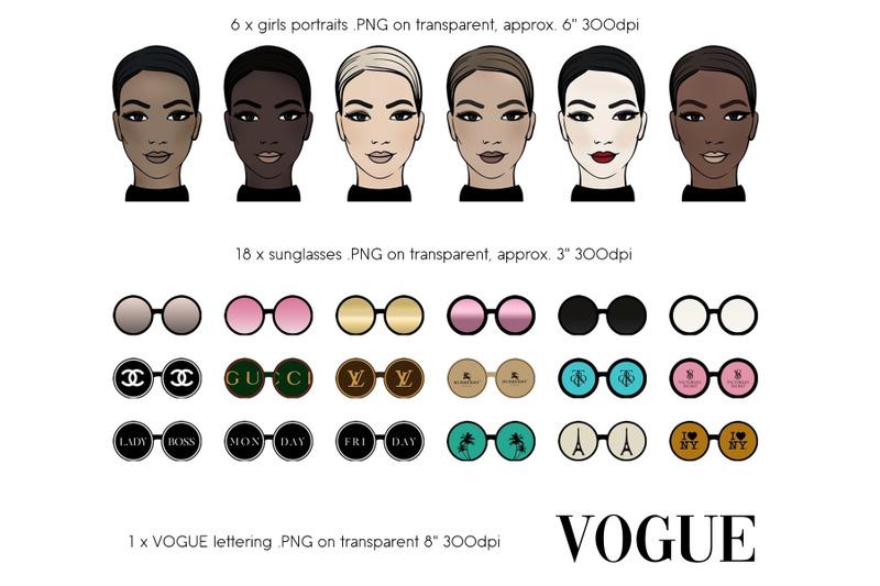 fashion-clipart-vogue-illustrations