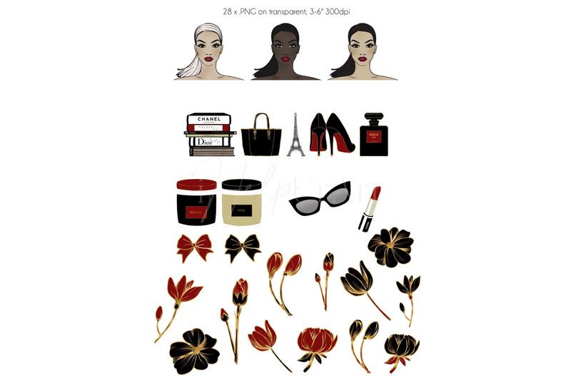 fashion-illustration-clip-art-luxury-brands-clipart