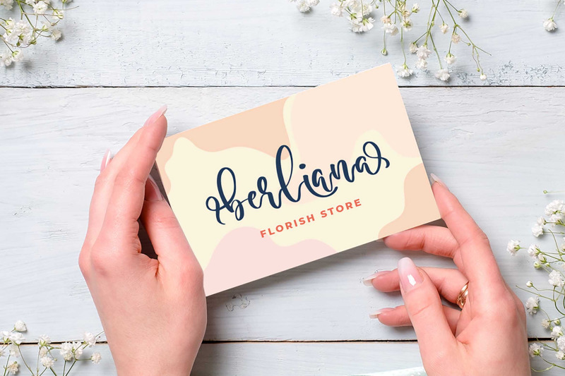 anderosa-a-bouncy-script-font