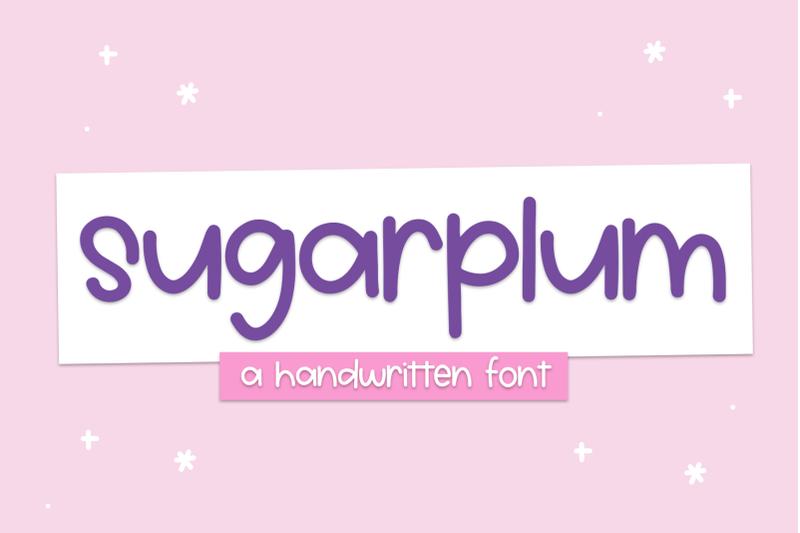 sugarplum-cute-handwritten-font