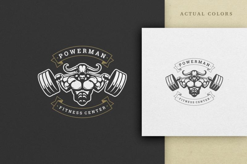 fitness-center-vector-logo-design