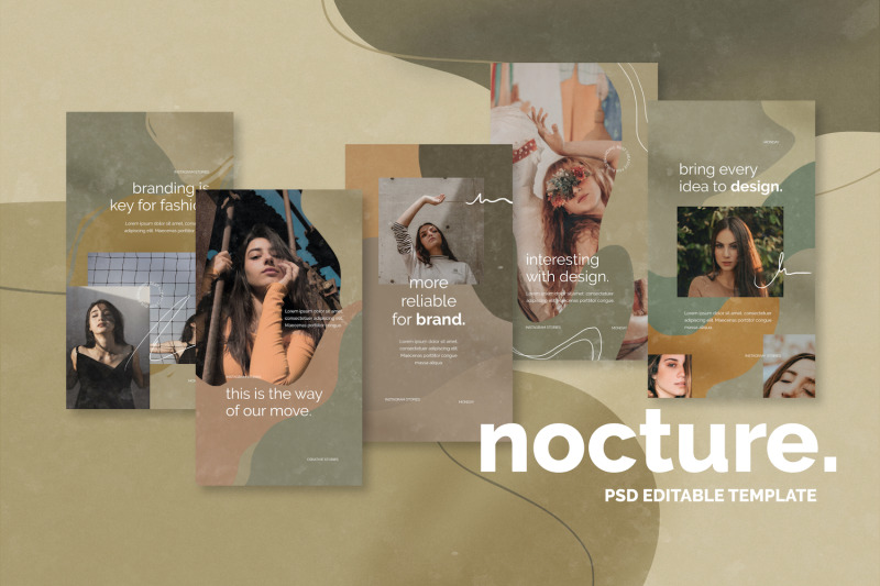 nocture-instagram-stories-template