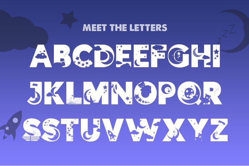 sweet-dreams-silhouette-font
