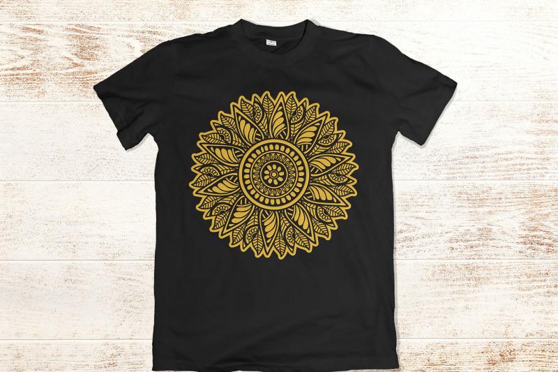 sunflower-mandala-svg-sunflower-split-monogram-zentangle