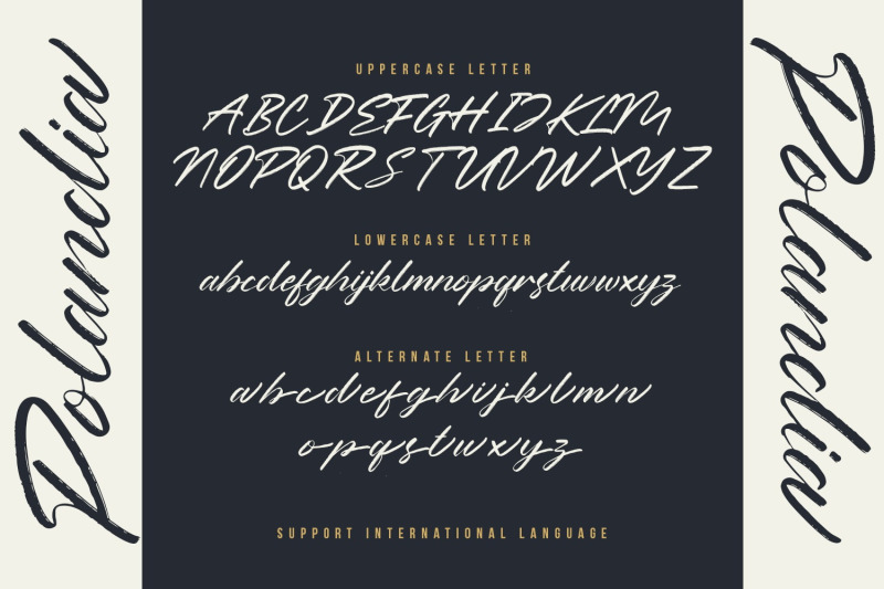polandia-the-handbrushed-font