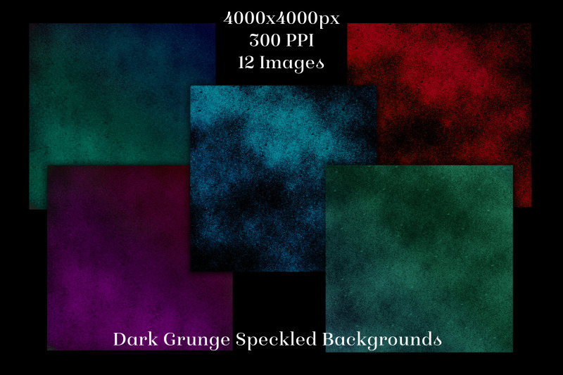 dark-grunge-speckled-backgrounds-12-image-textures-set