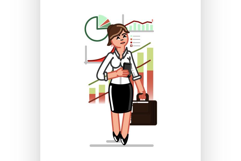 business-woman-checks