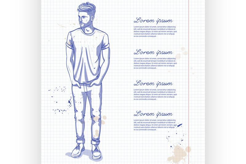 vector-man-model