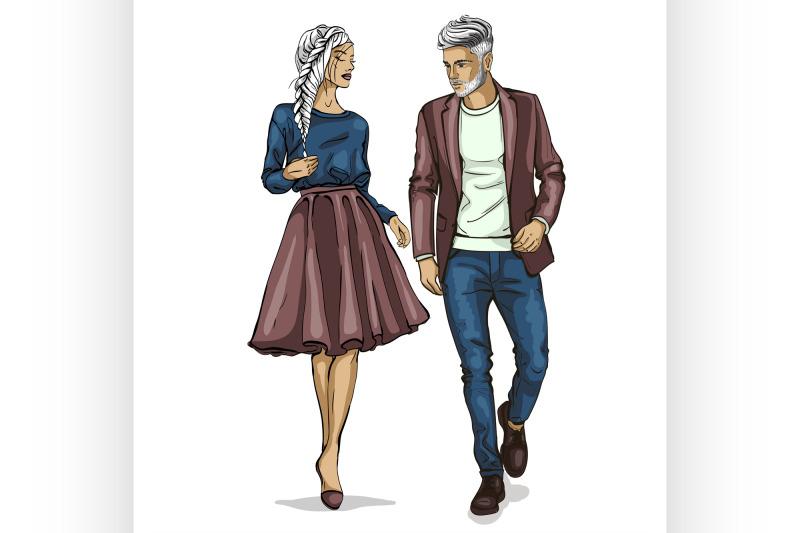vector-woman-and-man