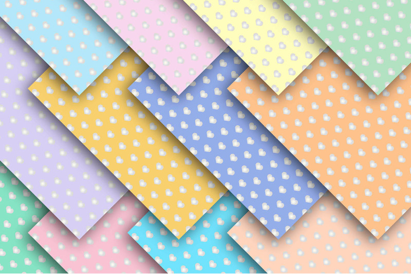 pastel-hearts-seamless-set-digital-papers-hearts-paper-valentines-pa