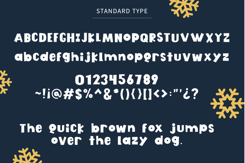 jingle-box-bold-font