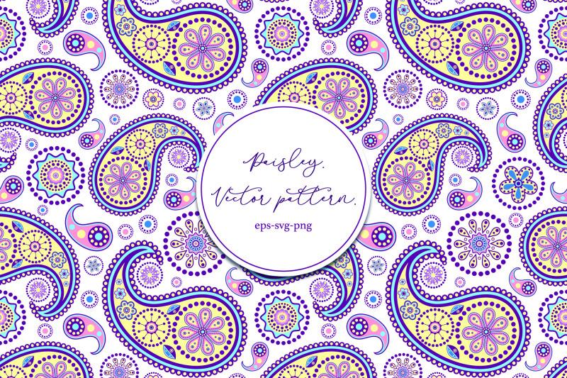 paisley-vector-pattern