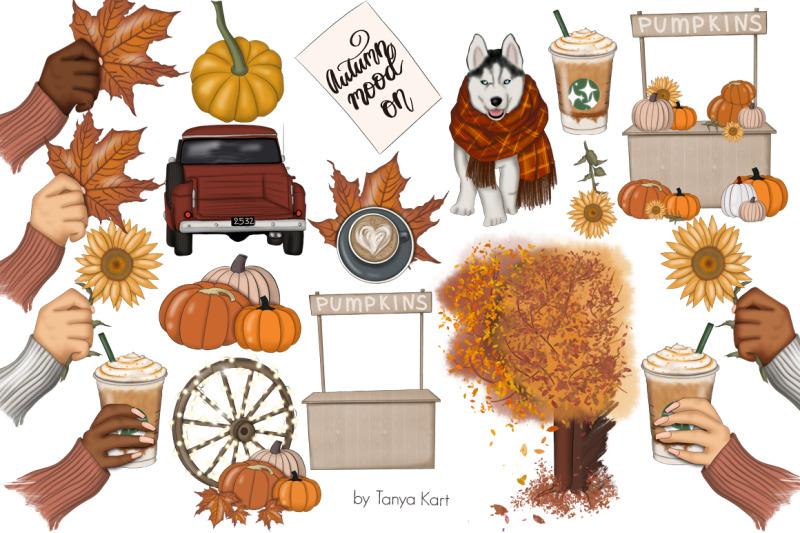 autumn-mood-on-clipart-amp-pattern