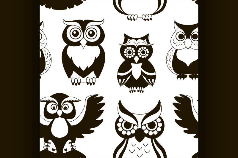 pattern-of-owls