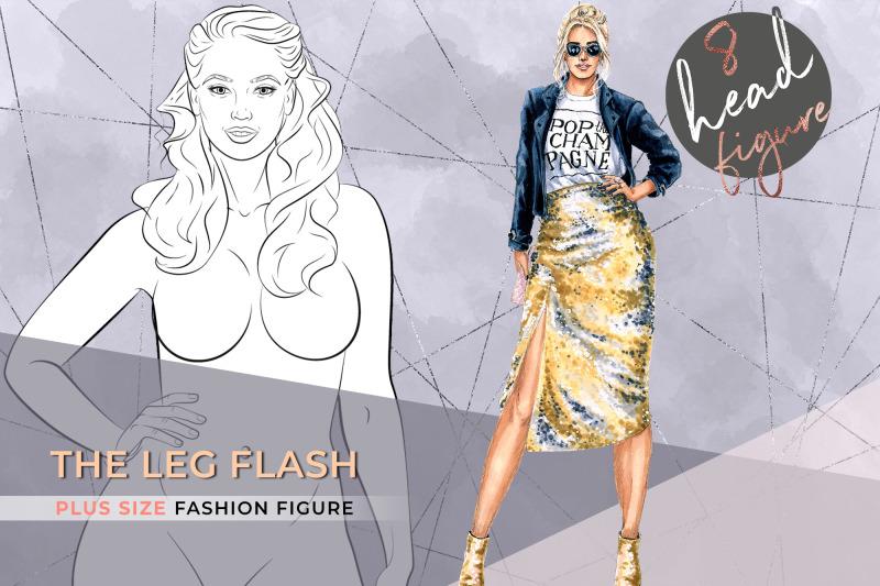 the-leg-flash-plus-size-croqui