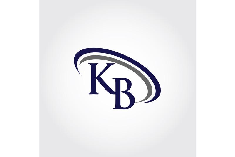 monogram-kb-logo-design